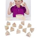 Mémo des sons, jeu sensoriel en bois de goki