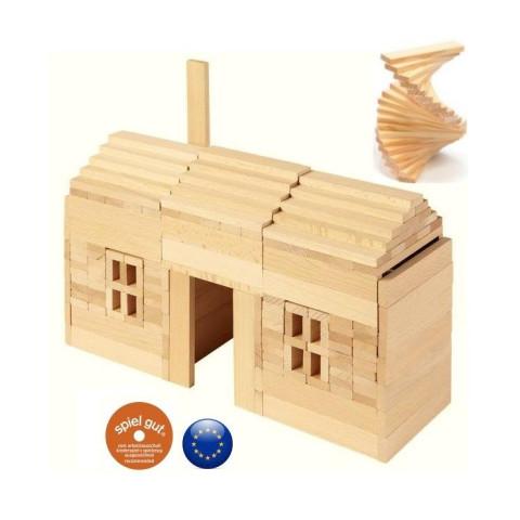 Planchettes, jeu de construction en bois