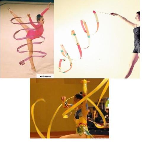 Ruban de gymnastique et jeu arc en ciel goki