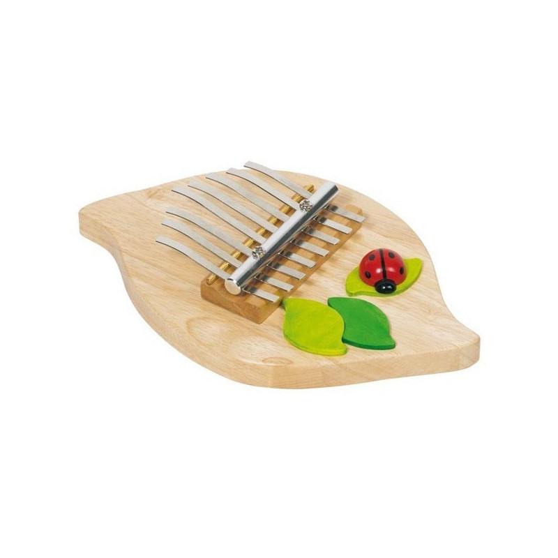 Kalimba, Sanza, instrument de musique en bois goki