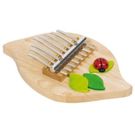 Kalimba, Sanza, instrument de musique en bois