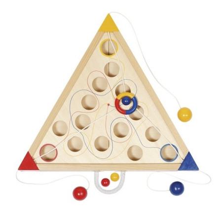 Tricours, jeu cooperatif en bois
