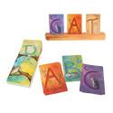Cartes alphabet, les lettres grimm's
