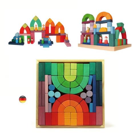 Construction romane, grand jeu romanesque Grimm's