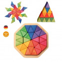 Puzzle octogone  3D, en bois Grimm's