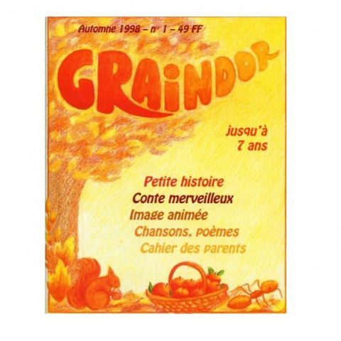 Graindor N°1 Automne, album illustre steiner waldorf imagin editions