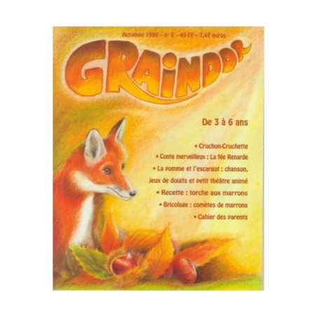 Graindor N°5 Automne, album illustré