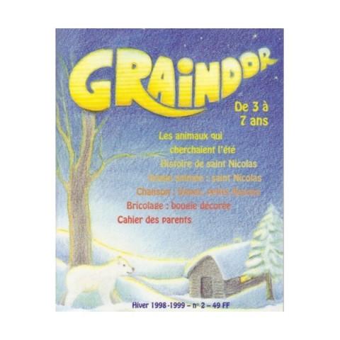 livre Graindor N°2 Hiver, album illustré steiner waldorg imagin editions