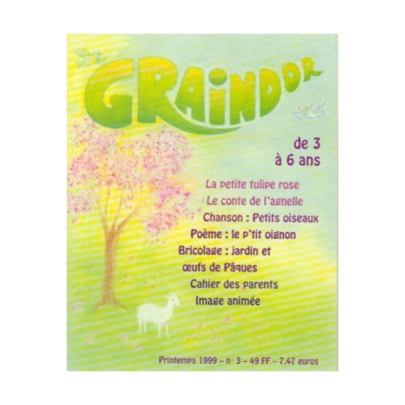 Graindor N°3 Printemps, album illustré
