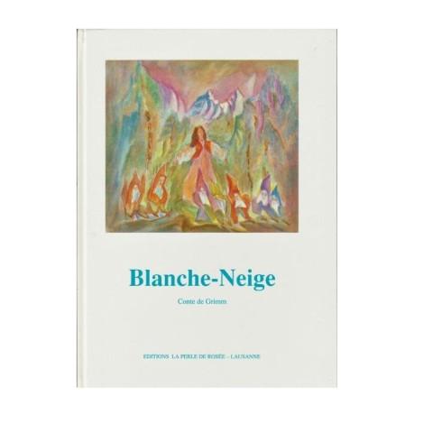 Blanche Neige, livre enfant illustré Perle de rosée