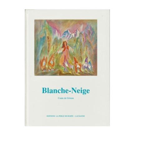 Blanche Neige, livre illustré Perle de rosée