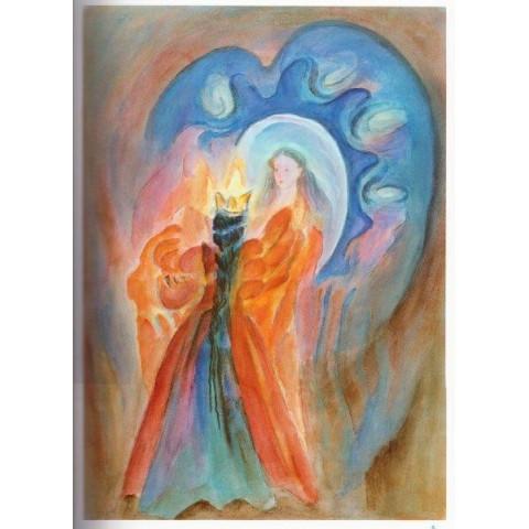 Blanche Neige, livre enfant illustré steiner waldorf Perle de rosée