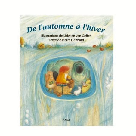 De l'automne à l'hiver, livre cartonné  illustré