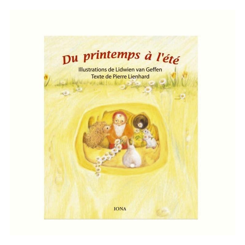 De l'automne à l'hiver, livre enfant cartonné  illustré, iona