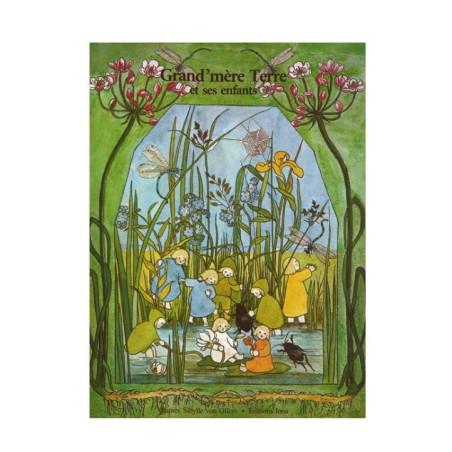 Grand mère terre et ses enfants, livre illustré