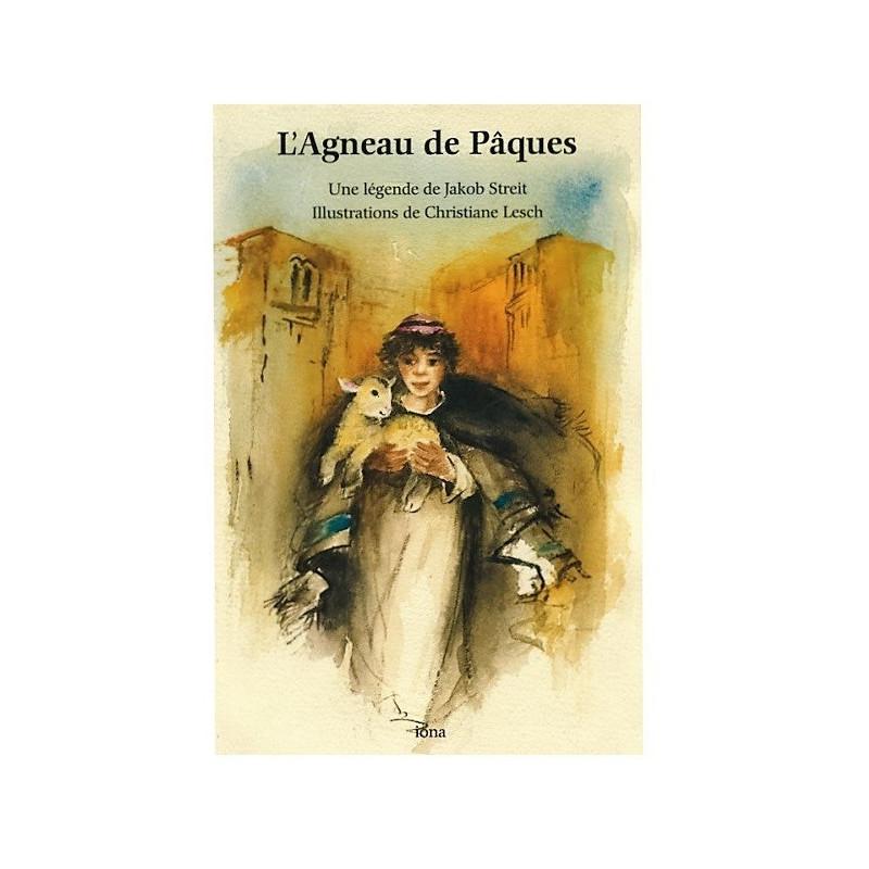 L'agneau de Pâques, livre enfant  illustré de jakob streit, iona