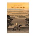 La flamme sacrée, conte initiatique, livre enfant illustré, iona