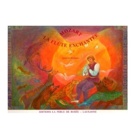 La flûte enchantée, livre illustré