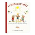 La ronde de l'année, elsa beskow, livre illustré enfant, perle de rosée