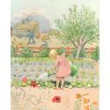 La ronde de l'année, elsa beskow, livre illustré enfant, steiner waldorf perle de rosée