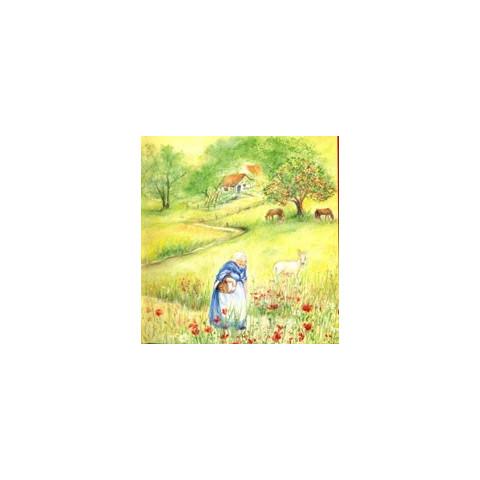 Le kouglof aux pommes, livre illustré pour enfant, steiner waldorf editions iona