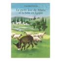 Le petit ane de Marie et la fuite en egypte, livre illustré pour enfant, editions iona