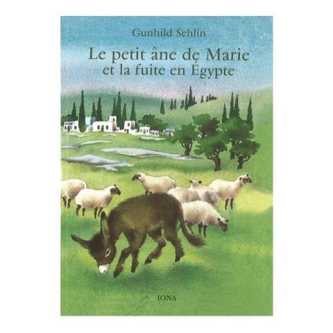 Le petit ane de Marie, livre illustré