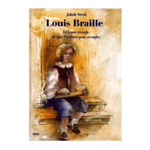 Louis Braille, livre illustré pour enfants, editions iona