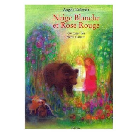 Neige Blanche et Rose rouge, livre illustré