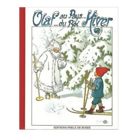 Olaf au pays du roi hiver, livre illustré Elsa Beskow