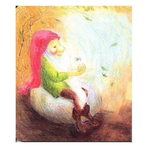 Romarin le lutin, livre enfant cartonné illustré des editions iona