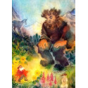 Titou le racinain, livre illustré enfant waldorf steiner editions iona