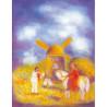 Tourne Fracasse, conte de Grimm, livre illustré pour enfant steiner waldorf iona