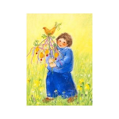 Carte Arbre de Pâques,