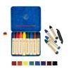 Crayons de cire d'abeille, boite de 8 craies, Stockmar