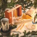 Kit creatif bougies trempées en vraie  Cire d'abeiille, steiner waldorf,  dipam