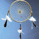 Kit créatif, fabrication d'un Attrape rêve, attrape cauchemar indien, dream catcher