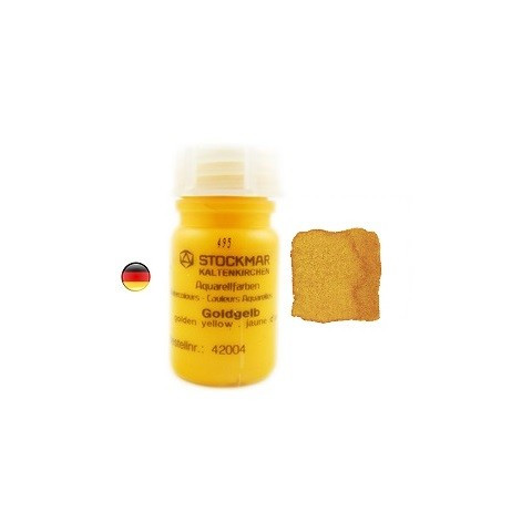 Peinture Aquarelle 50 ml jaune d'or, Stockmar