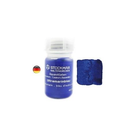 Peinture Aquarelle 50 ml bleu outremer, 10,steiner waldorf Stockmar