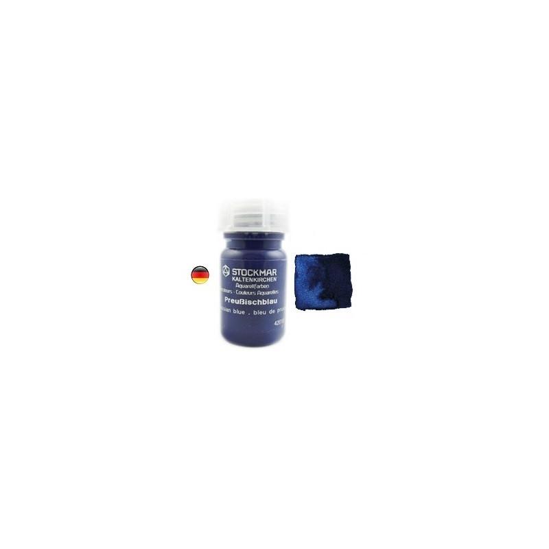 Peinture Aquarelle 50 ml bleu de prusse, steiner waldorf Stockmar