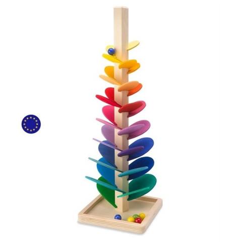 Arbre à billes musical, moyen modèle, circuit en bois de magicwood