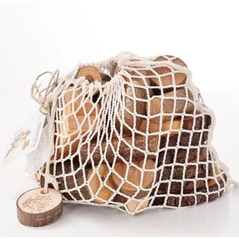 EcoBlocks, blocs rondins de bois,  jeu de construction naturel waldorf steiner de magic wood