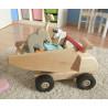 Grand camion à bascule, jouet en bois solide de ostheimer konrad keller