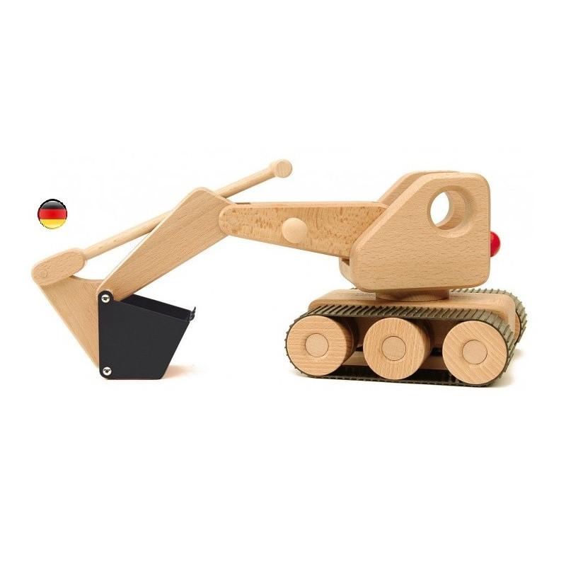 grande pelleteuse à chenille , jouet en bois Ostheimer konrad keller