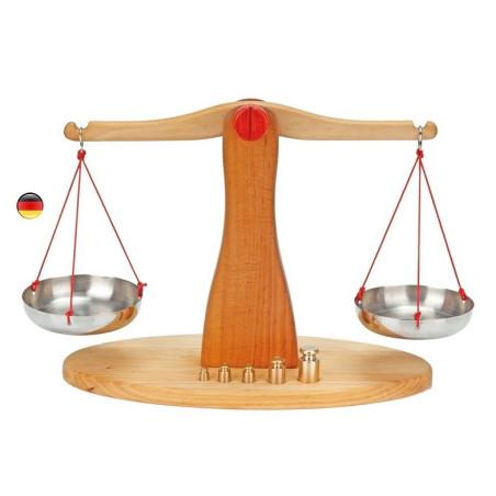 Balance pour marchande, jouet en bois