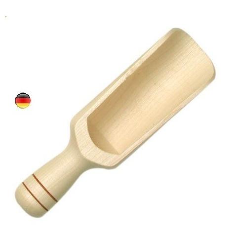 Cuillere en bois pour farine et graines et sable, jouet de gluckskafer