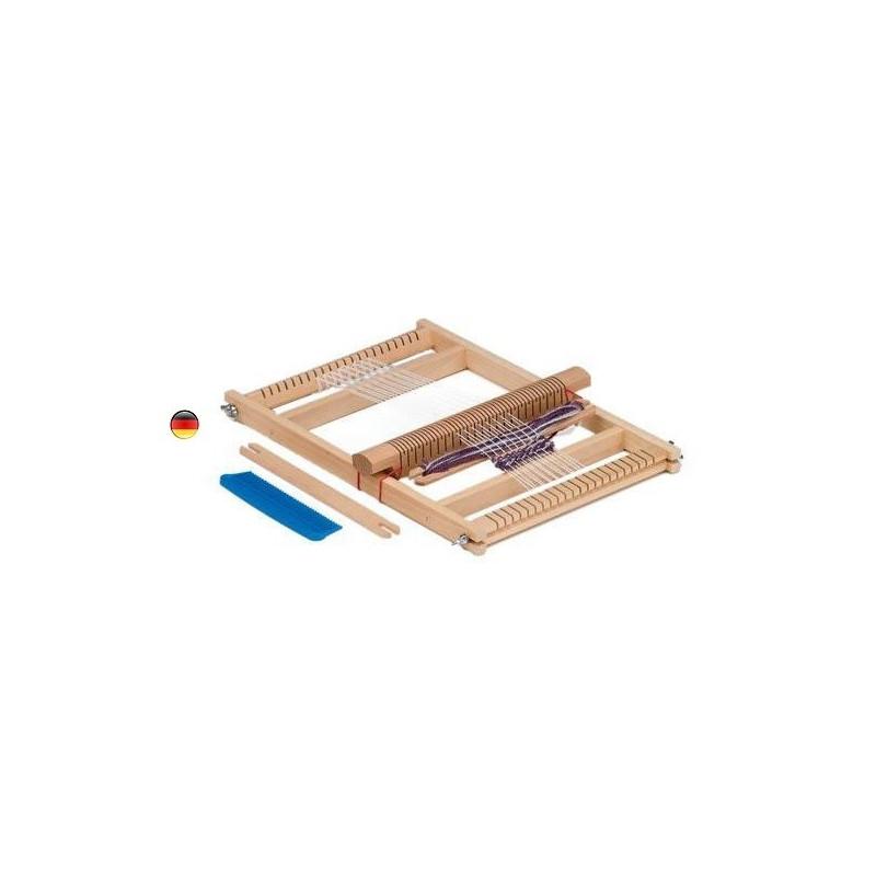 Métier à tisser en bois, grand modèle, jouet en bois Gluckskafer nic