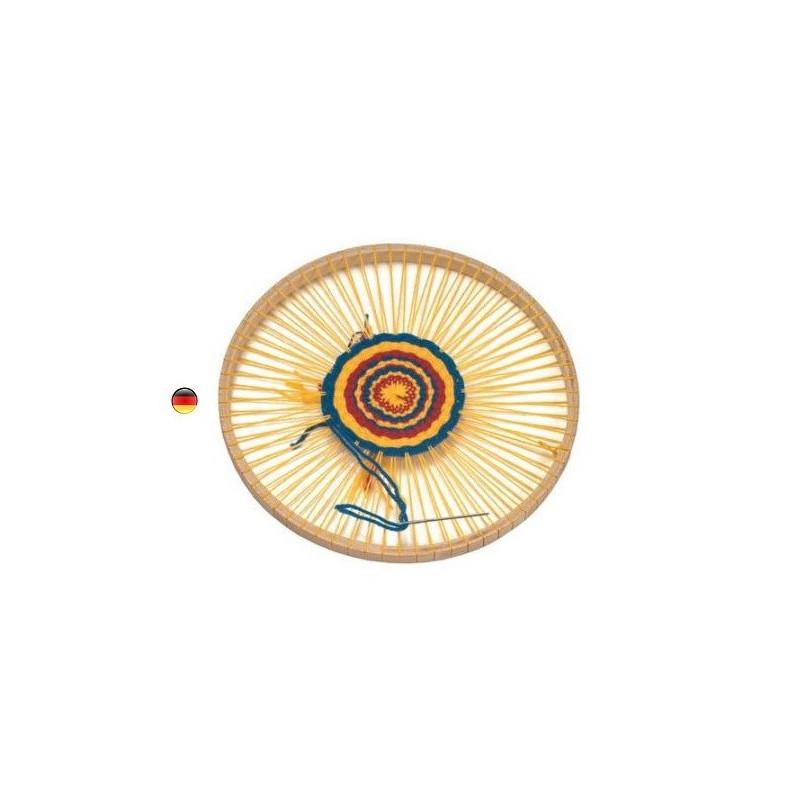 Cercle Métier à tisser rond en bois, jouet de Gluckskafer nic