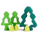 Sapin surprise, puzzle encastrement, jouet en bois de gluckskafer nic