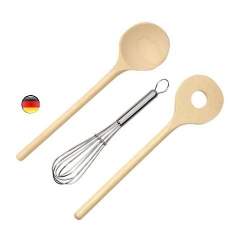 Ustensiles de cuisine pour dinette et cuisinière, jouet en bois Gluckskafer Nic